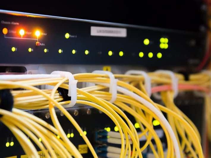 Technische Einheit eines Servers
