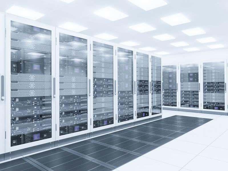 Datenrettung Windows Server im Serverraum
