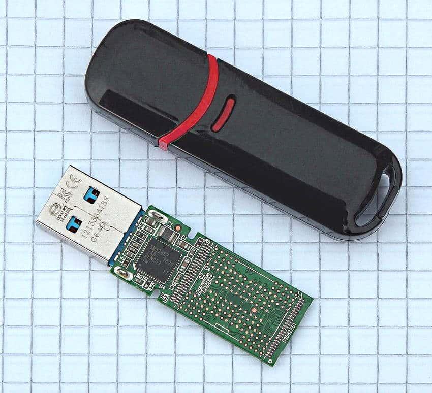 Architektur von einem USB Stick