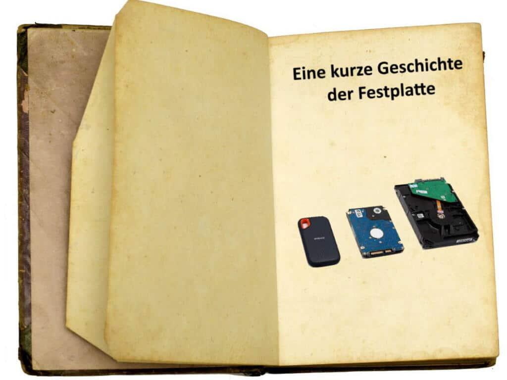 Buch Geschichte der Festplatte