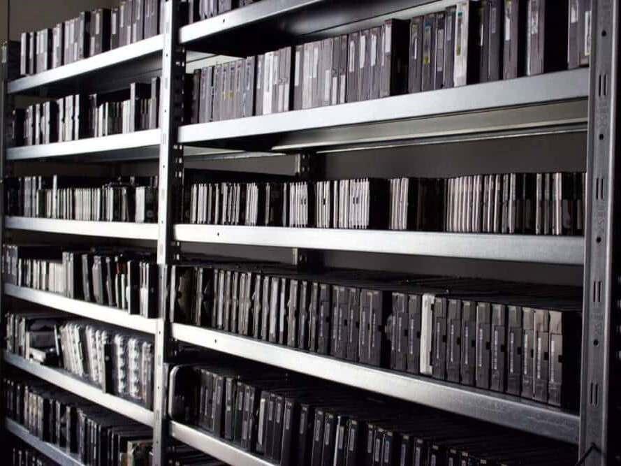 Data Recovery Historie Festplattenarchiv