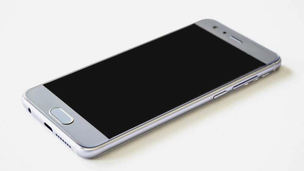 Handy der Marke Huawei im Boot-Loop