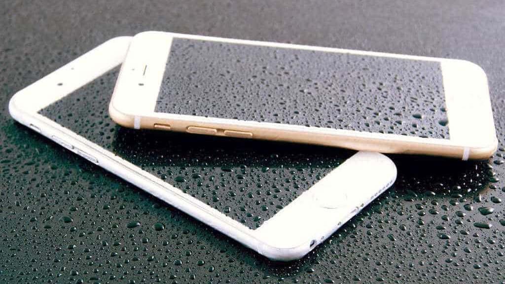 Flüssigkeitsschaden bei iPhones durch Spritzwasser